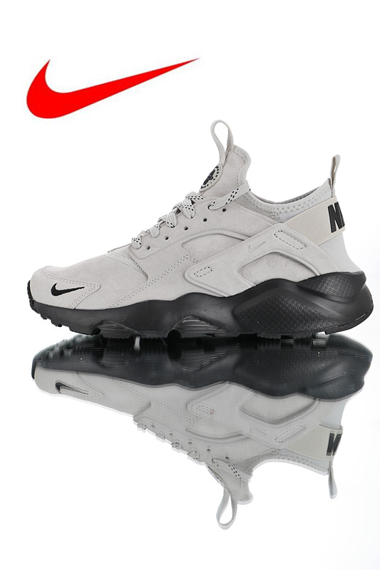 sports shoes 17381 c83d3 US $64.5 57% OFF Official Nike Air Huarache Ultra Suede ID Men's Original  Running Shoes ,Men's Breathable High Quality Shoes 829669 003-in Running ...