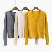 Harajuku Cardigan Ladies 2018 Spring Fashion Knit Sweater Women Large Coat Casual Jacket Winter Clothing Summer