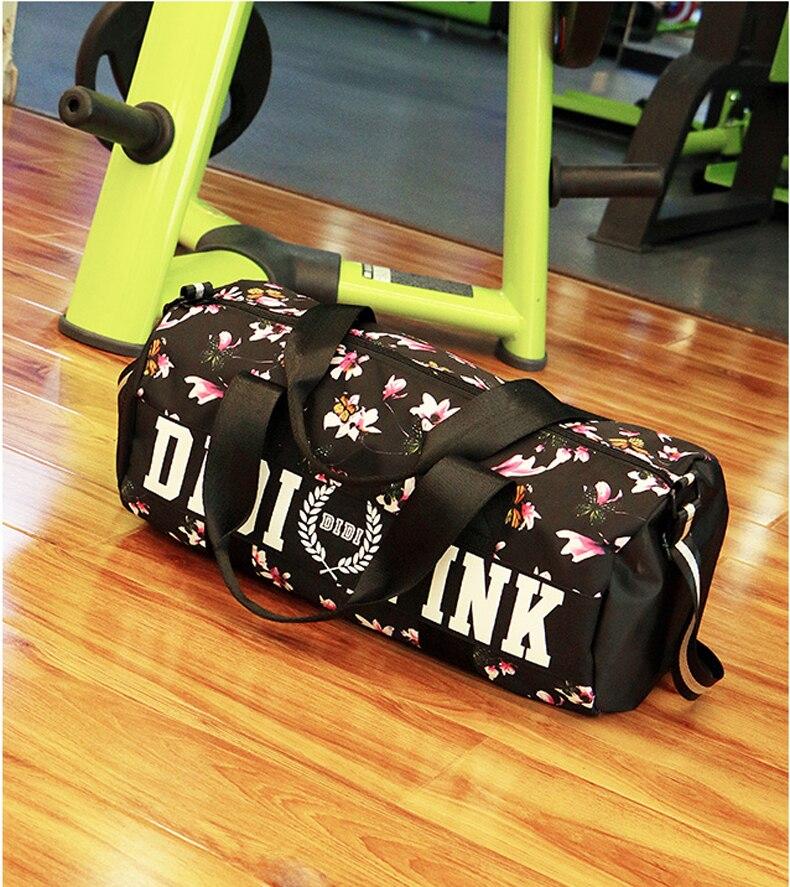 Hot Training Female Yoga Duffel Bag Nylon Outdoor Male Sport Bag Professional Men And Women Fitness Shoulder Gym Bag 5