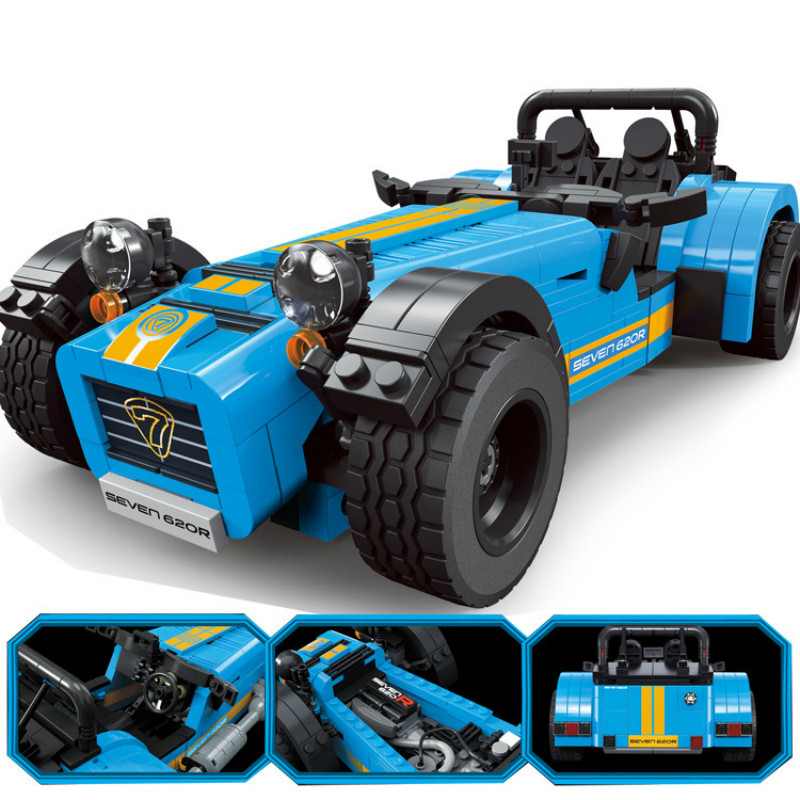 8612 771pcs The Caterham Classic 620R Racing Car Set Compatible with 21307 21008 Building Blocks Toy