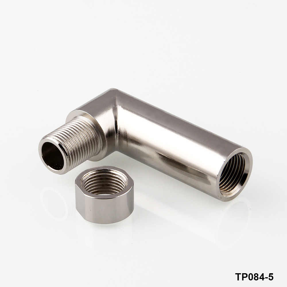 Oxygen O2 Sensor spacer Extender extension Header Straight 0 /90 degree  /Bung HHO Adapter Pipe Angle Kit M18 x 1 5 TP084-4-6