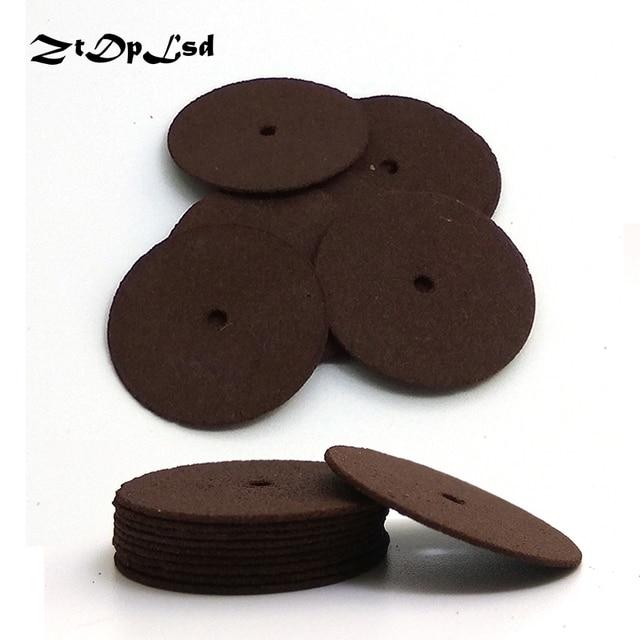 ZtDpLsd 10pcs 24/38mm Cutting Abrasive Discs Reinforced Cut Off Grinding Wheels Rotary Blade Disc Tool Dremel Parts Accessories