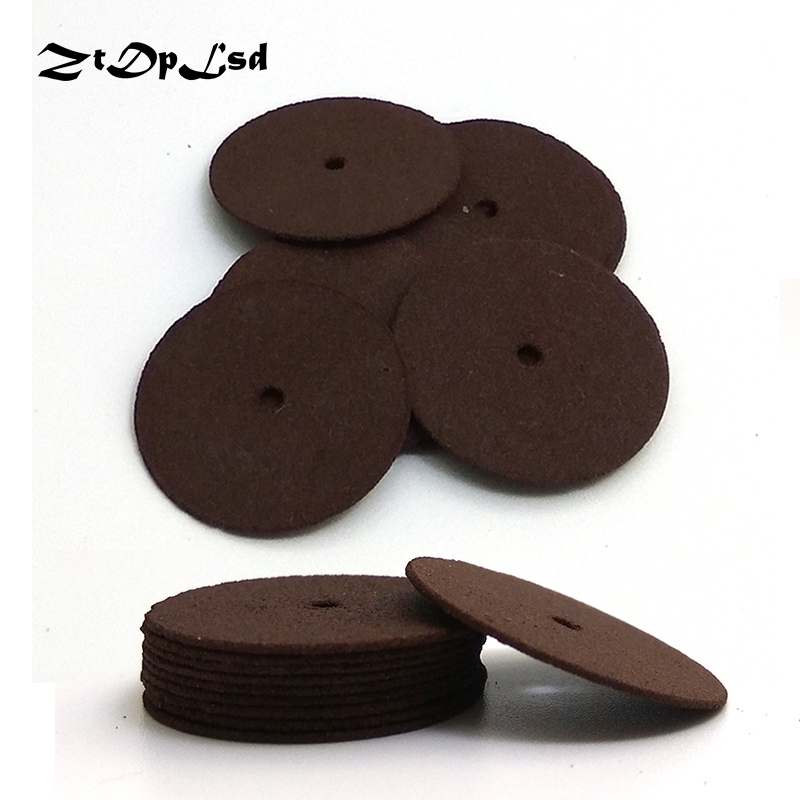 ZtDpLsd 10pcs 24mm Cutting Abrasive Discs Reinforced Cut Off Grinding Wheels Rotary Blade Disc Tool Dremel Parts Accessories
