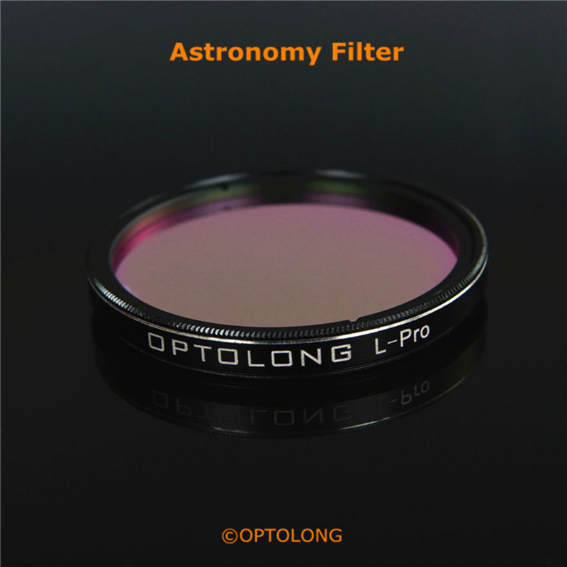 OPTOLONG Astronomical Telescope Eyepiece L Pro Filter Cut Light Pollution Planetary Photography 1 25inch 2inch