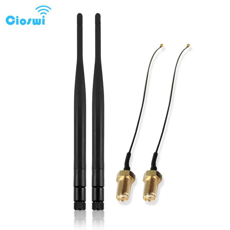 4g lte antena wifi rp sma złącze z pigtail kabel 2.4 ghz 5 ghz 3g 5dbi bezprzewodowy dostęp do internetu anteny 5dbi na świeżym powietrzu dla router Wi-Fi
