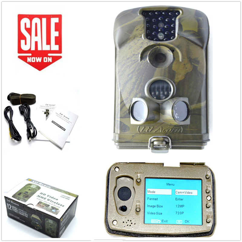 High quality Ltl Acorn 6210MC 12MP 940NM HD 1080p Farm hunting game cameras digital font b