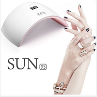 2017 professional white light 24W UVLED SUN9s Nail Dryers machine for nail polish gel nail art tools