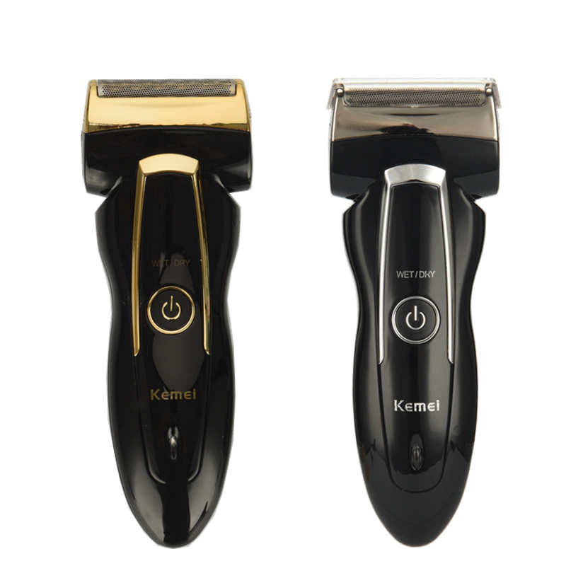 KEMEI Electric Shaver Safe Rechargeable Rotary Beard Trimmer Shaving Machine Travel Use Twin Heads Shaver for Men цена и фото