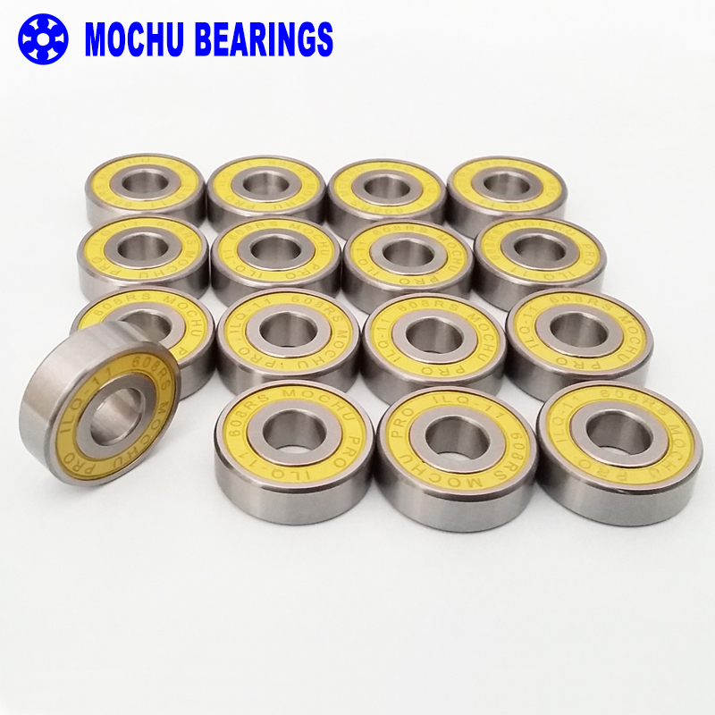 16pcs ILQ-11 608RS 8x22x7 608 MOCHU Skating Bearing Inline Roller Skates Bearings For Skate Shoes Patins Scooter Skateboard мясорубка электрическая galaxy gl 2408