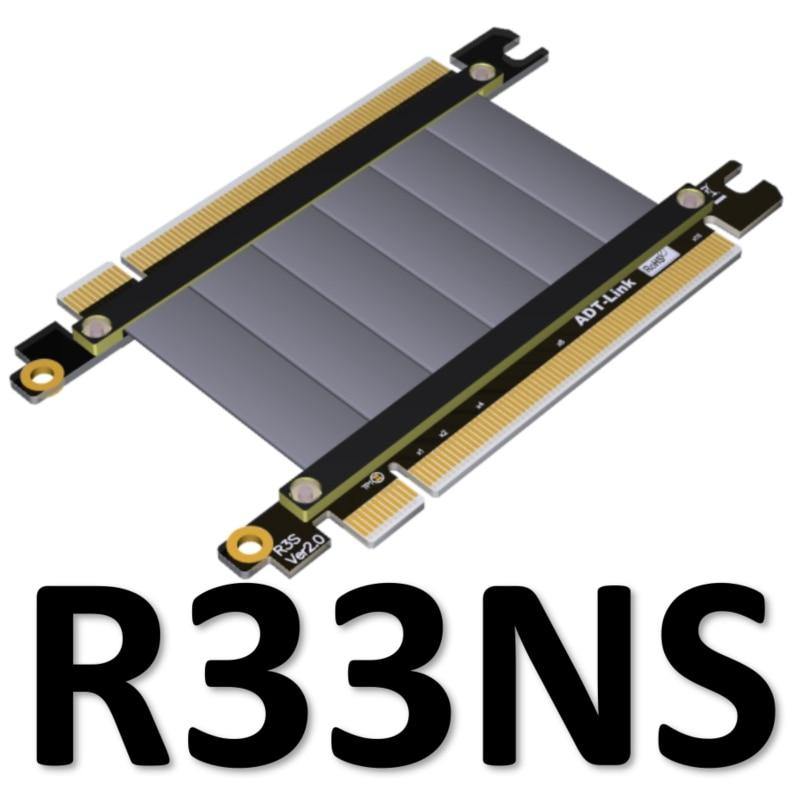 Câble de raccordement PCI express 3.0x16 à x16 16x pci-express Tx à Tx/Tx à Rx PCIe pour pulls de carte, extender, adaptateur, FPGA