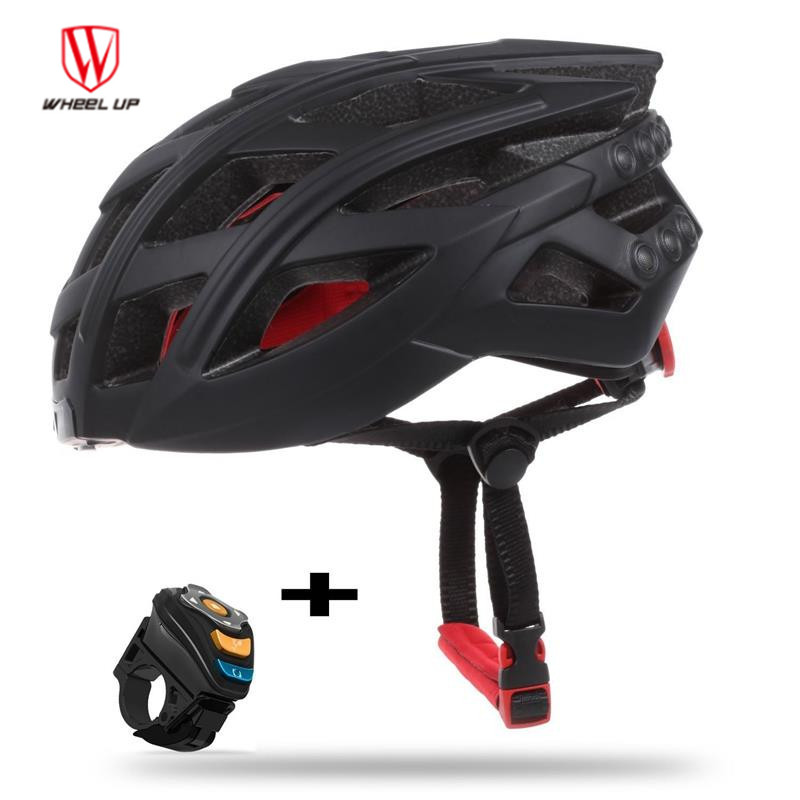 Wheel Up 7in1 Bluetooth Smart Bike Helmet LED Tail Light Phone Call Music Player Camera Support APP Cycling Helmet Equipment wireless service call bell system popular in restaurant ce passed 433 92mhz full equipment watch pager 1 watch 7 call button