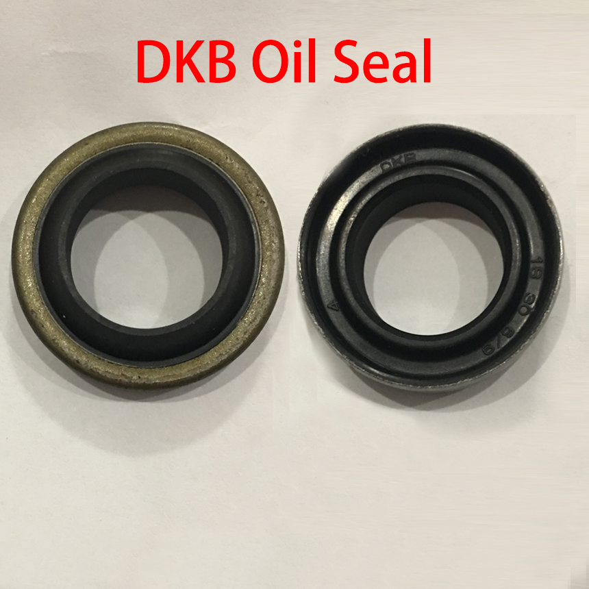 DKB 22*34*6/9 22x34x6/9 25*37*6/9 <font><b>25x37x6</b></font>/9 NBR Rubber U Rotary Hydraulic Cylinder Iron Shell Dust Proof Wiper Gasket Oil Seal image