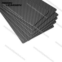 Wholesale 1pc/pack 250x400x4.0mm 100% Full Carbon fiber twill weave matte plate board sheet for RC toys CNC cutting