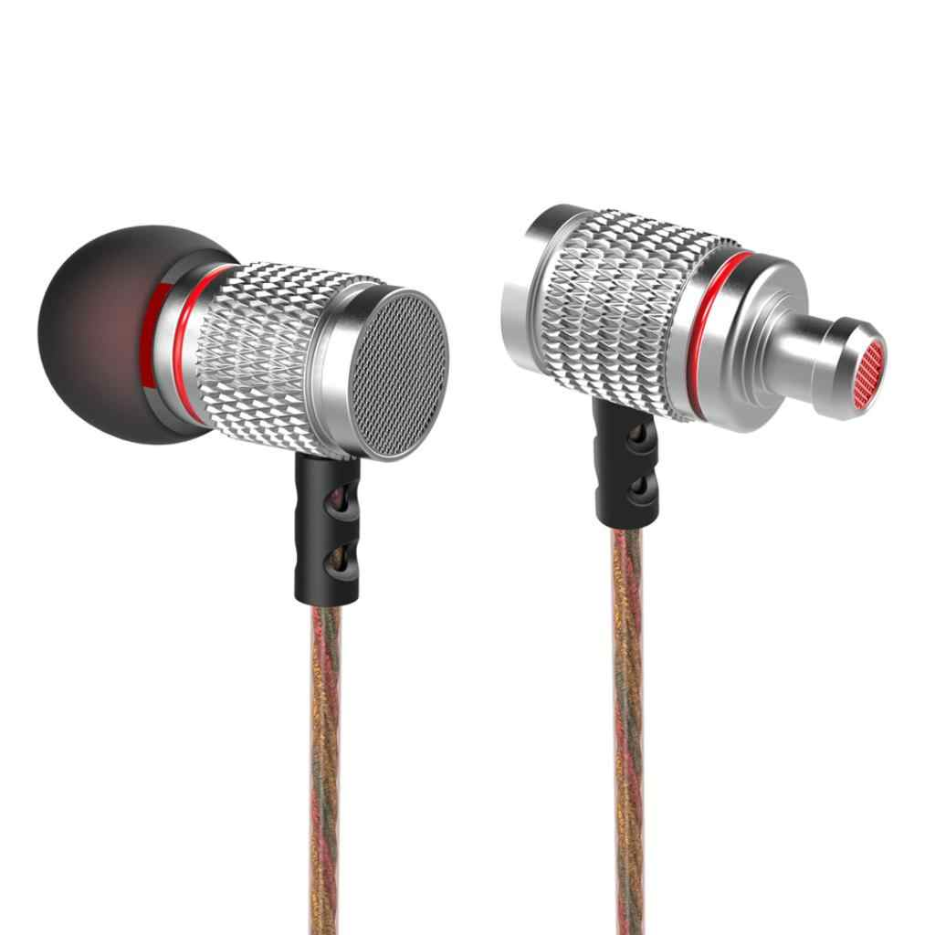 EDR2 3.5 Mm In-Ear Earphone Bass Stereo Headphone untuk iPhone, Samsung MP3 PC Gaming (Perak) (Tanpa MIC)