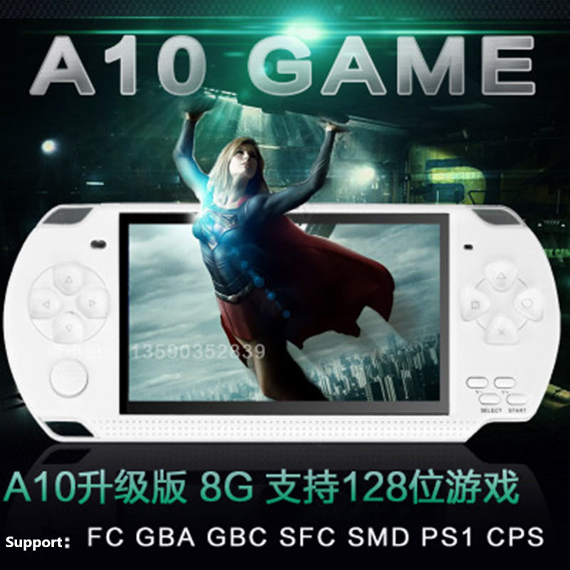 4.3inch Screen Children Classic Handheld Digital Screen Video for PSP Game Console With Camera Music & Electronic Books