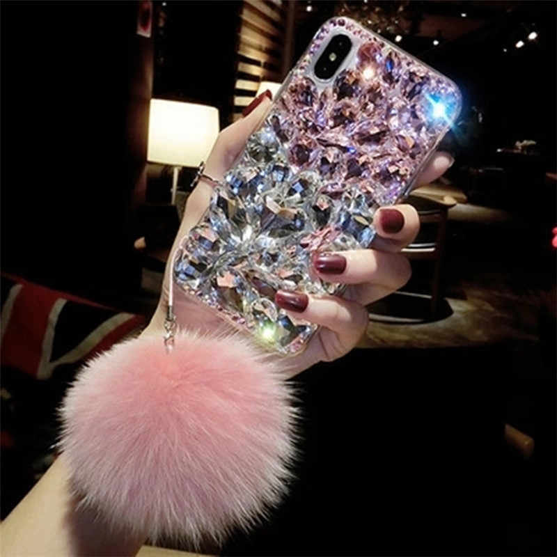 For Samsung C9 Pro C10 A6 A8 A7 A5 A3 Luxury Bling Rhinestone Case Red Diamond Cover For Galaxy J5 J6 J7 J8 Coque de telephone