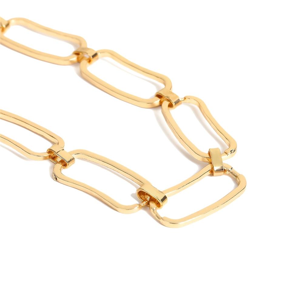 Ingemark Korean Sweet Love Heart Choker Necklace Statement Girlfriend Gift Cute Gold Silver Necklace Jewelry Collier Femme 18 18