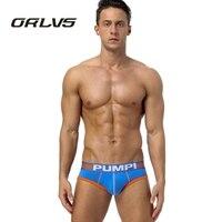 PU Sexy Men Underwear Aussie Pouch Slip Cueca Male Panties Mens Brief Cotton Briefs Men S