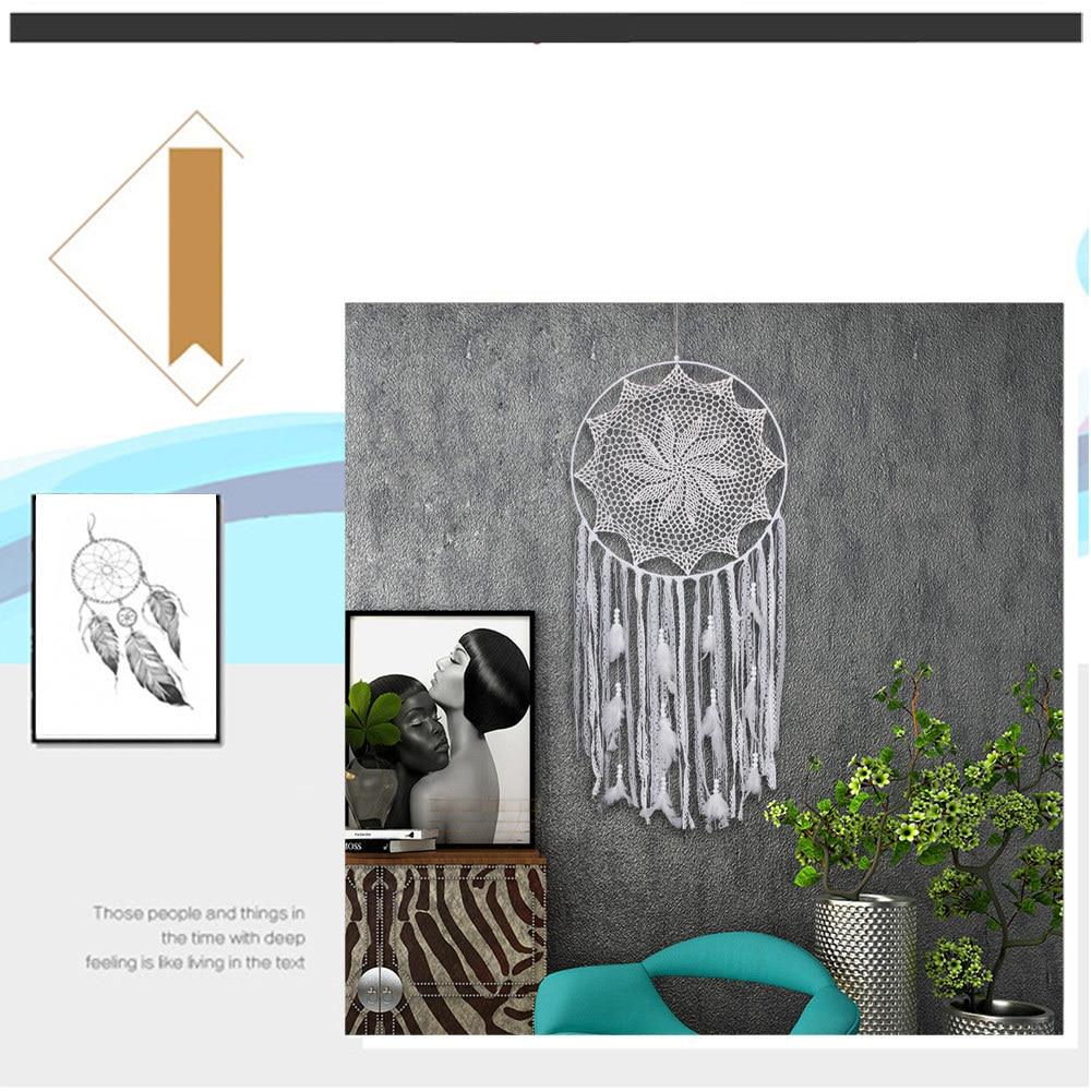 big dream catcher decor for home-nordic decoration home-kids room decoration-wind chimes-dream catchers hanging dreamcatcher new (20)