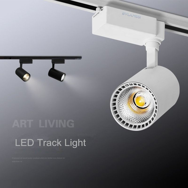 Modern Track Light COB LED Track Lighting Aluminum Ceiling