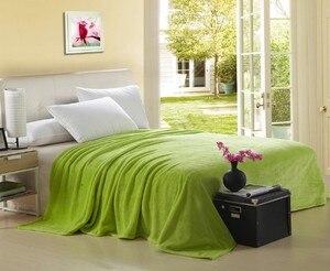 Image 4 - Мягкие фланелевые покрывала CAMMITEVER для дома, однотонные супертеплые покрывала для дивана/кровати/путешествий, пледы, покрывала, простыни