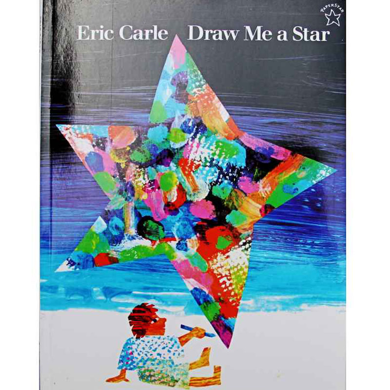 Draw Me A Star By Eric Carle Educational English Picture Book Learning Card Story Book For Baby Kids Children Gifts