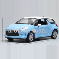 1:24 Alloy Toy Sports Car Model DS3 of Children's Toy Cars Original Authorized Authentic Kids Toys Gift