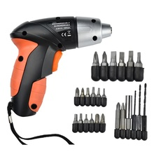 21 In 1 Mini Drill Electric Drill Home DIY 4.8V Electric Screwdriver Wrench Woodwork Slotted Cross Socket Twist Drill Portable цена