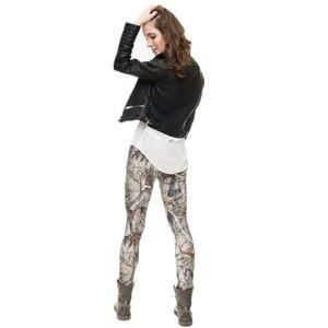Image 3 - Di modo leggins mujer Con Modello Multicolore 3D Stampa legging di fitness feminina leggins Donna Pantaloni workout leggings