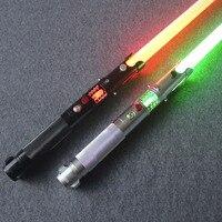 Люк Звездные войны черный серии Skywalker LightSaber джедай синяя Вейдер меч электронные игрушки свет может быть небольшое столкновение вечерние по