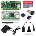 Raspberry Pi Null W Starter Kit + Acryl Fall + 2A Netzteil + AUF/OFF USB Kabel + 16 32 GB SD Karte + HDMI Kabel + Kühlkörper|Demo-Board|Computer und Büro -