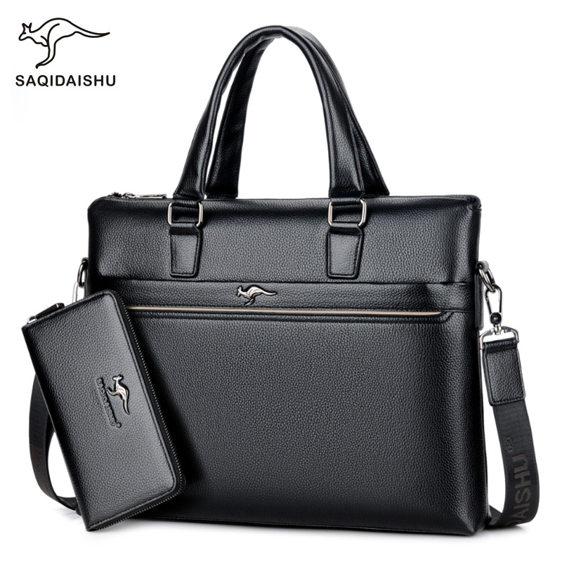 Laptop Handbag Computer Messenger-Bag Business Briefcase Travel-Bag Shoulder-Crossbody-Bag