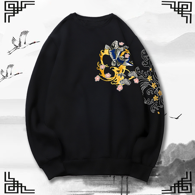2xl-8XL 9xl chandail hommes nouveauté décontracté broderie automne col rond qualité tricoté marque mâle chandails grande taille 160 cm