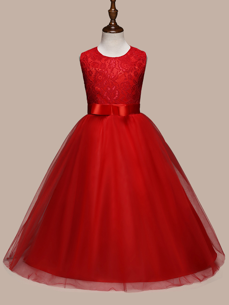Multicolor NewBaby Girl Christmas Ball Gowns Kids Girls Wedding ...