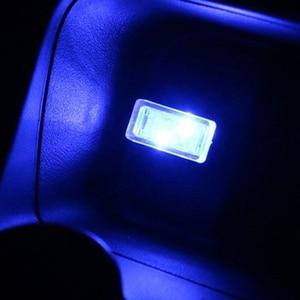 1pcs Car-Styling USB Atmosphere LED Light Car Accessories For SEAT Ibiza Leon Toledo Arosa Alhambra Exeo FR Supercopa Mii Altea(China)
