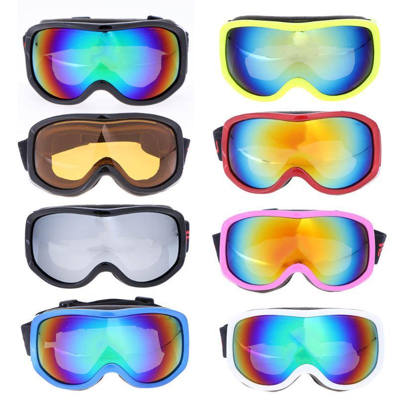 1 шт. лыжные очки для детей и взрослых большой Лыжная маска очки мужские и женские зимние Eyewears Анти-туман очки ветрозащитный пыле очки горнол... ...