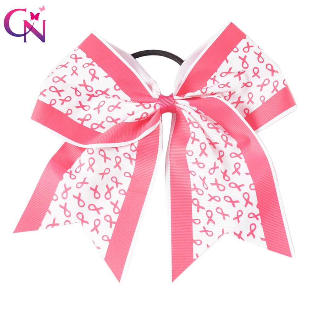 8 Breast Cancer Cheer Bows With Elastic Hair Band For Kids Girls Large Handmade Bouqtique Printed Ribbon Bow Hair Accessories arvinder pal singh batra jeewandeep kaur and anil kumar pandey factors associated with breast cancer in amritsar region