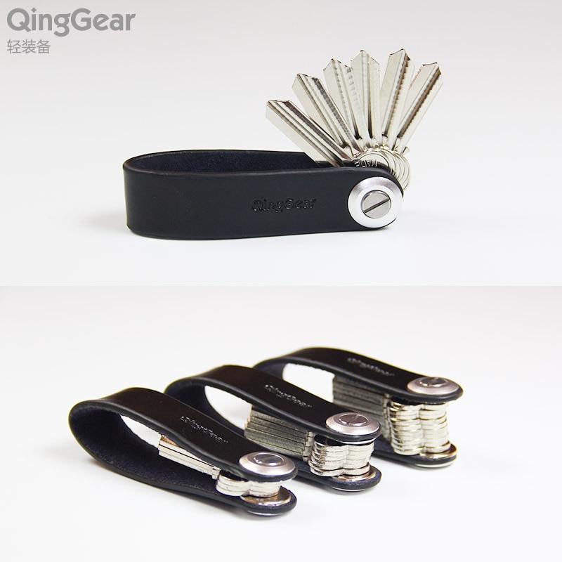 QingGear LKey Kombinovaný ruční nástroj Ruční kožený - Sady nástrojů - Fotografie 2