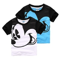 Children S Boy Girls Cute Cartoon Pattern Summer Short Sleeve Cotton T Shirt Tee Tops Clothes