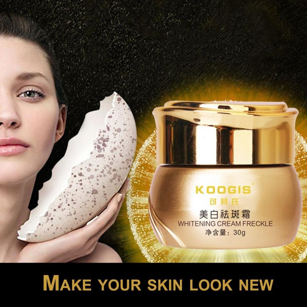 KOOGIS mujeres piel brillo crema cuidado Facial peca acné Spot Remover acné pecas, punto Rem