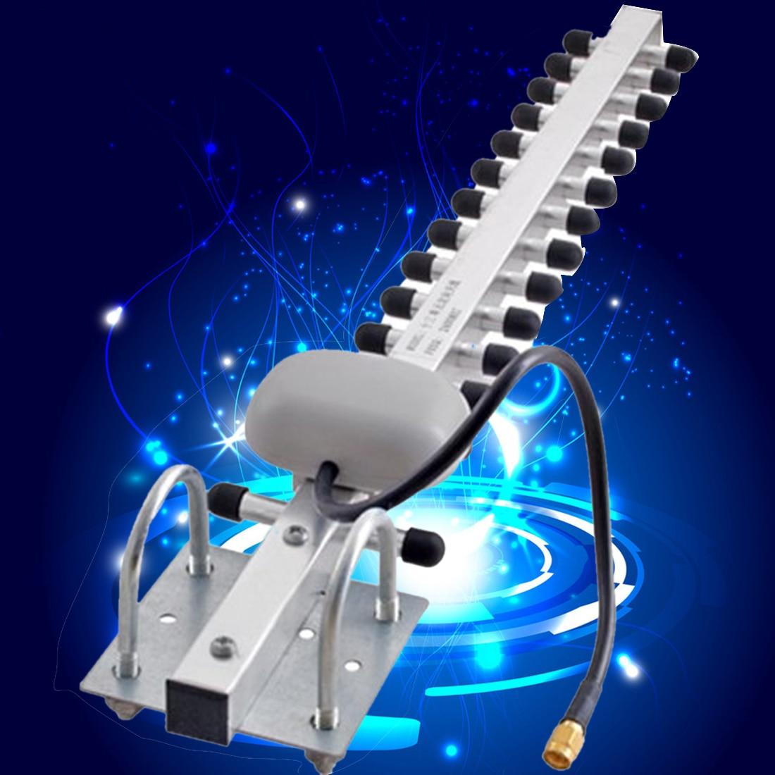 Etmakit Drahtlose WiFi Antenne 2,4 Ghz 20DBI 802.11B/G RP-SMA W-Lan Wifi Wan Repeater Top Qualität