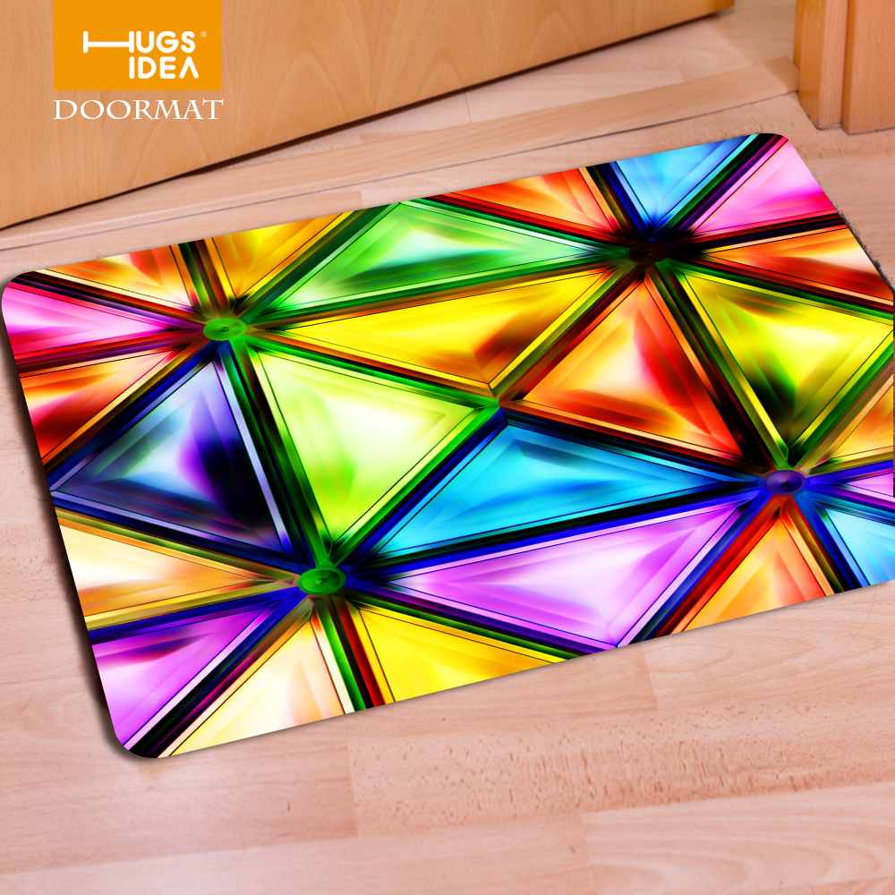 Colorful Carpets For Living Room Non Woven Rugs Floor Mat