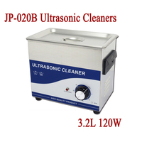 JP 020B Ultrasonic Cleaner 3 2L 120W Eyeglasses Jewelry Parts Hardware PCB Ultra Sonic Bath Washer