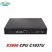 Partaker X3900 Linux Mini PC С mini-PCIE Порт Celeron1037U Двухъядерный 1.8 ГГц Процессор