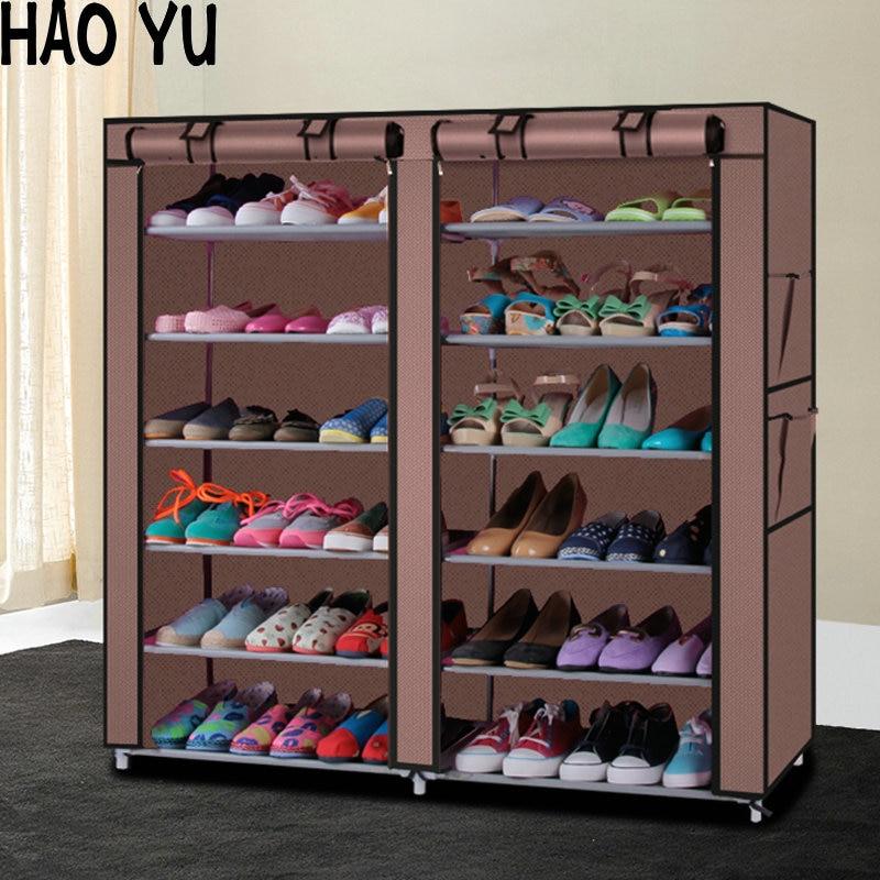 Шкаф для обуви стеллаж хранения большая вместимость мебель дома сделай сам
