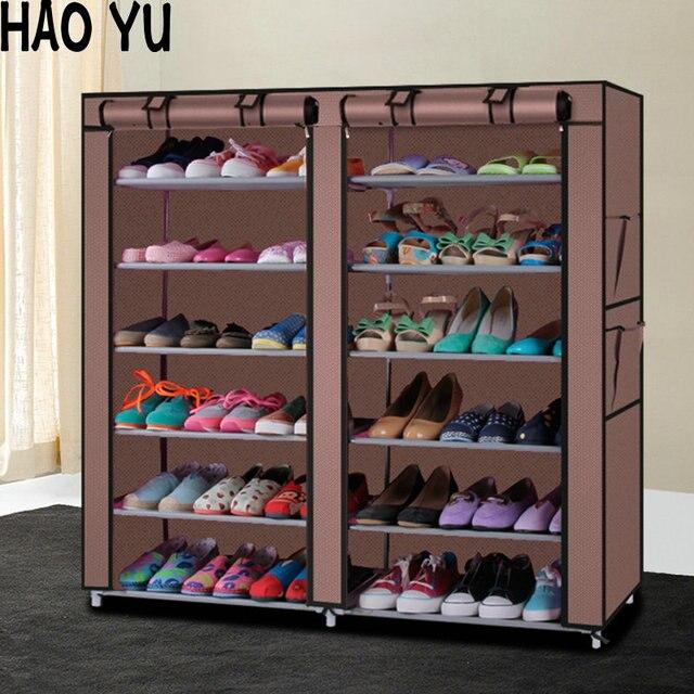 Armoire À Chaussures Chaussures Rack De Stockage Grande Capacité