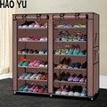 Zapatos de rack de almacenamiento de gran capacidad zapatero muebles para el hogar BRICOLAJE sencillo 12 gird