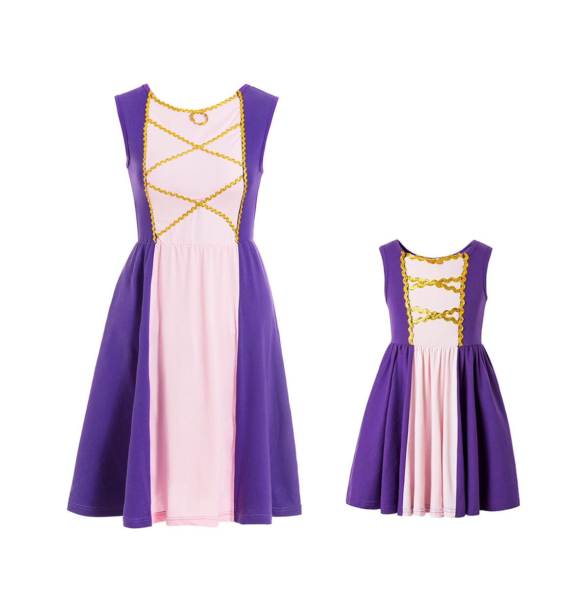 mommy and me matching rapunzel princess dress costume