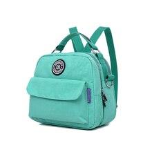 Повседневное для женщин нейлоновая сумка мини сумки на плечо женская сумка через плечо Малый Сумка-ракушка Bolsa Feminina рюкзак