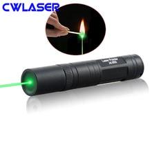 CWLASER м 10000-5000 м высокая мощность 532nm Фокусируемый Зеленый горящий лазер JD850 мощность ful зеленый лазерная указка ручка